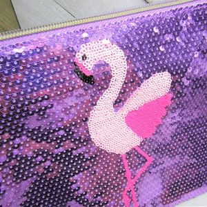 5/$20 - tarte Cosmetics - Flamingo Makeup Bag